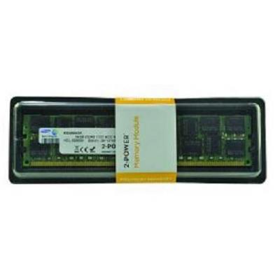 2-power RAM-geheugen: 16GB DDR3L 1333MHz DIMM - Groen