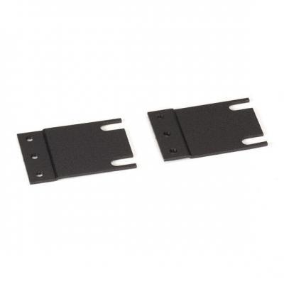 "Black Box Rackmount Adapter - Rack bracket - 1U - 19""/23"" Rack toebehoren - Zwart"
