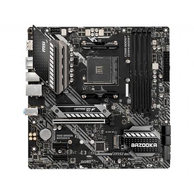 MSI AMD B550, AM4, 4x DDR4, HDMI, DP, SATA III, M.2, USB 3.2, 1G LAN, PS/2, Micro-ATX, 244x244 mm Moederbord