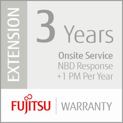 Fujitsu 3 Years Onsite Service, NBD, +1PM Garantie