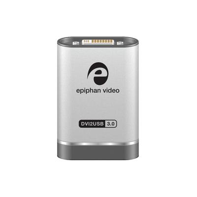 Epiphan DVI2USB 3.0 Video capture board - Zwart,Zilver