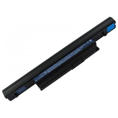 Acer batterij: 6-cell 4400mAh Li-Ion Battery - Multi kleuren
