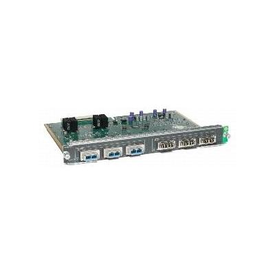 Cisco switchcompnent: Catalyst 4500 E-Series 6-port 10 Gigabit Ethernet (X2) module, Spare - Zilver