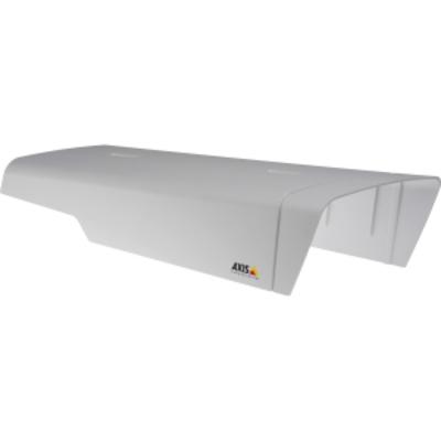 Axis beveiligingscamera bevestiging & behuizing: Sunshield kit - Wit