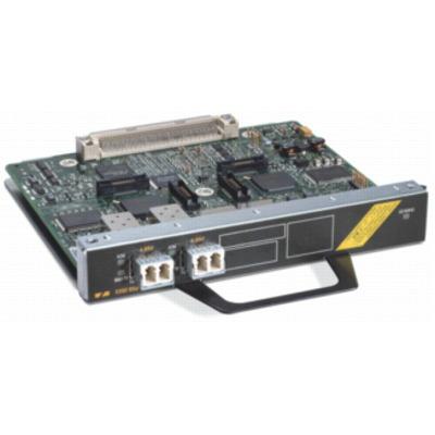 Cisco netwerkkaart: 1-port ATM OC-3c/STM-1 single-mode (IR) port adapter, Refurbished - Grijs, Zilver