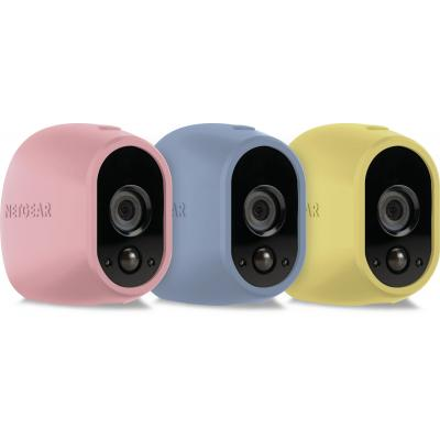 Netgear beveiligingscamera bevestiging & behuizing: VMA1200C - Blauw, Roze, Geel