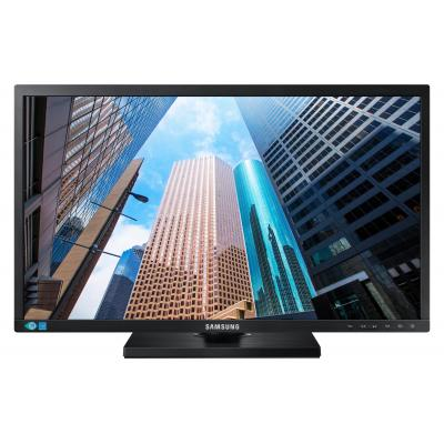 """Samsung monitor: FHD Business Monitor 24"""" (SE650-serie) S24E650DW - Zwart (Approved Selection Budget Refurbished)"""