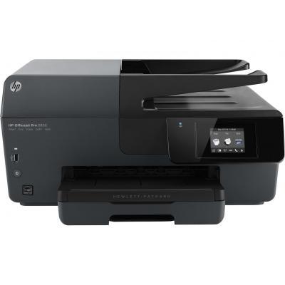 HP multifunctional: Officejet Pro 6830 Premium MFP - Zwart, Cyaan, Magenta, Geel