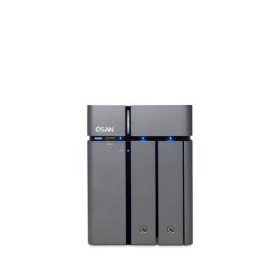 Qsan Technology XCubeXN3002T NAS - Zwart