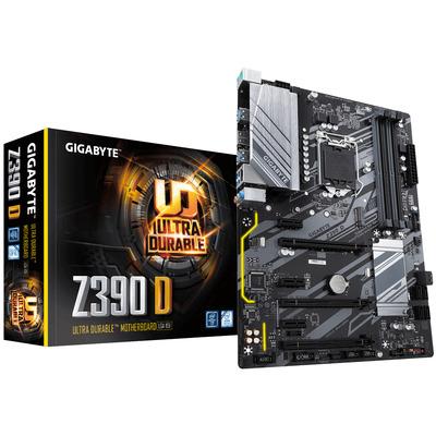 Gigabyte Z390 D, Intel Z390 Express, LGA 1151, 4x DDR4, PCI Express x16 3.0, PCI Express x1 3.0, M.2, SATA III, .....