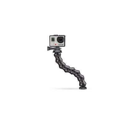 Gopro camera-ophangaccessoire: Gooseneck - Zwart