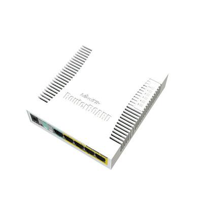 Mikrotik 5 x Ethernet, PoE in, SFP ports, 6 W, 8 - 30 V, 212 g, SwOS Switch - Wit