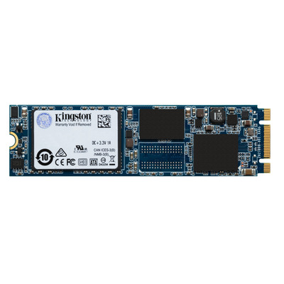 Kingston technology SSD: UV500 - Zwart, Blauw