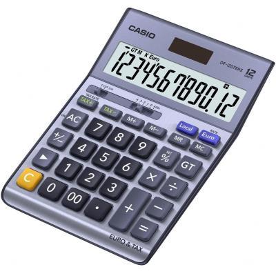 Casio 12-cijferige EXTRA BIG LC-display, 1x LR44, 180g Calculator - Blauw
