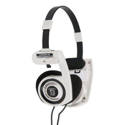 Koss Corp Hong Kong Headset - Zwart, Wit