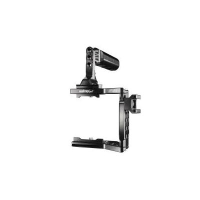 Walimex camera beugel/bracket: pro Aptaris for Blackmagic Pocket - Zwart