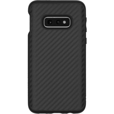 SolidSuit Backcover Samsung Galaxy S10e - Carbon Fiber Black - Zwart / Black Mobile phone case