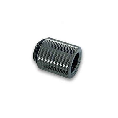 EK Water Blocks EK-AF Extender 20mm M-F G1/4 - Black Nickel