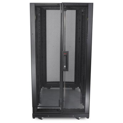 Apc rack: NetShelter SX 24U 600mm x 1070mm Deep Enclosure - Zwart