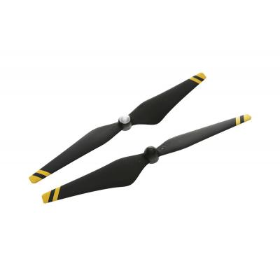 Dji : 9450 (Composite Hub, Black with Yellow Stripes) - Zwart, Geel