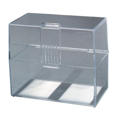 Herlitz index card box A7 empty transparent Kaartenbak - Transparant