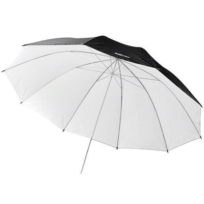 Walimex photo studio flash unit accessoire: pro Reflectie Paraplu zwart/wit, 150cm