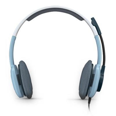 Logitech headset: H250 - Blauw