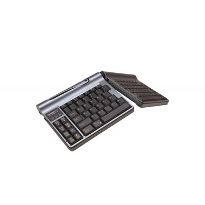 BakkerElkhuizen Goldtouch Travel Go Bluetooth Toetsenbord - Zwart, Grijs