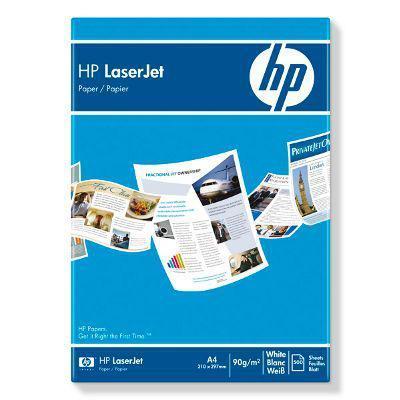 Hp laserpapier: LaserJet papier,500 vel, A4/210 x 297 mm - Wit
