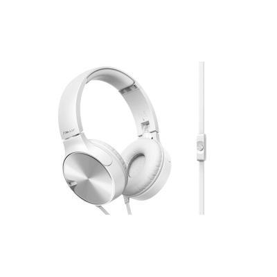 Pioneer headset: SE-MJ722T TURKOOIS/ZWART - Wit