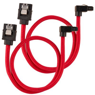 Corsair CC-8900280 ATA kabel - Zwart, Rood