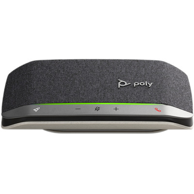 POLY Sync 20, Standard, USB-A Telefoonspeaker - Zwart, Zilver