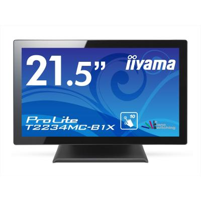 "Iiyama touchscreen monitor: ProLite 54.61 cm (21.5 "") IPS LED, multitouch, 1920 x 1080, 1000:1, 225 cd/m², ....."