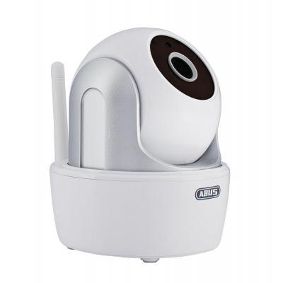Abus beveiligingscamera: WLAN Draai-/Kantelcamera en App, CMOS, 5 IR LEDs, 10/100Mb/s Ethernet, 802.11 b/g/n - Wit