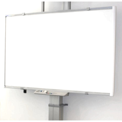 ErgoXS Digibord Wandframe Universeel, 60 kg, 54 - 114 cm, 220V / 50 Hz TV standaard - Grijs