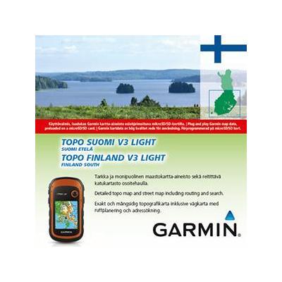 Garmin routeplanner: TOPO Suomi Finland v3 Light Etela