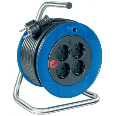 Brennenstuhl power extrention: BN-HASP06 - Blauw, Zwart