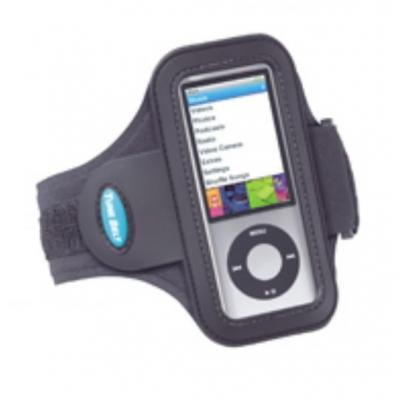 Tune belt MP3/MP4 case: Sport Armband for iPod nano 5G - Zwart