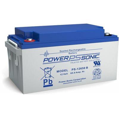 Power-Sonic PS-12650VDS UPS batterij - Blauw, Grijs