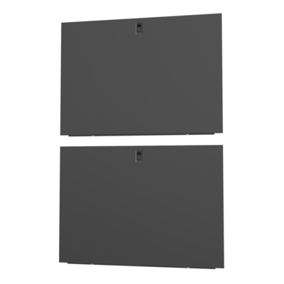 Vertiv 42U x 1100mm, Deep Split, Side Panels, Black, 2x Rack toebehoren - Zwart