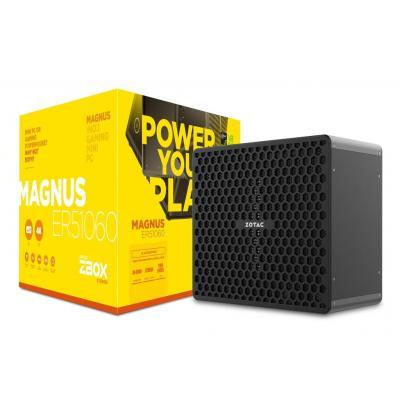 Zotac barebone: ZBOX MAGNUS ER51060 - Zwart