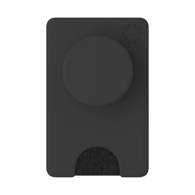 PopSockets PopWallet+ Black Houder - Zwart