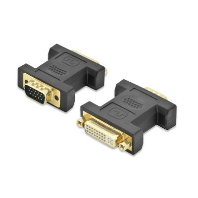 Ednet 84524 Kabel adapter - Zwart