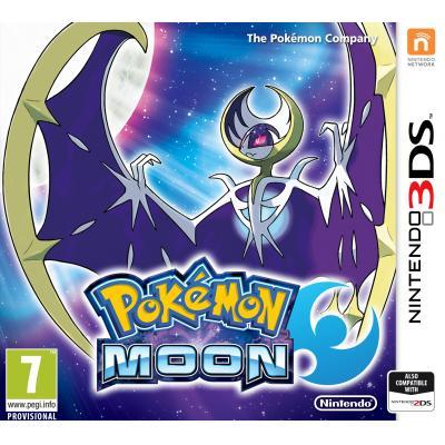 Nintendo game: Pokemon, Moon  3DS