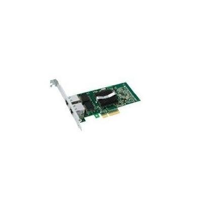 Dell netwerkkaart: PRO 1000 PT Dual Port PCI Express Server Adaptor - Groen