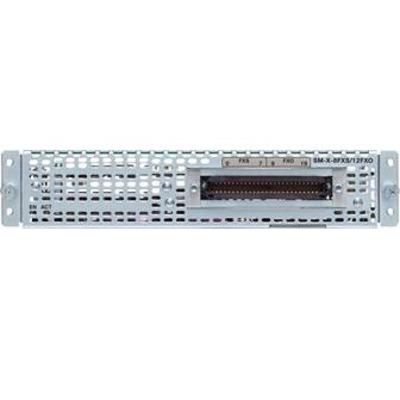 Cisco SM-X-8FXS/12FXO= Voice network module
