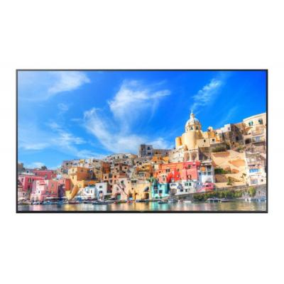 "Samsung public display: UHD Large Format Display 85"" QM85D - Zwart"