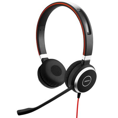 Jabra headset: Evolve 40 UC Stereo - Zwart