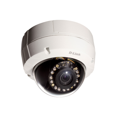 "D-Link Outdoor, Dome, 1/2.8"" Progressive CMOS, 3.0MP, 2048 x 1536, f=3-9mm Vari-Focal Lens, WDR, Day/Night, IR ....."