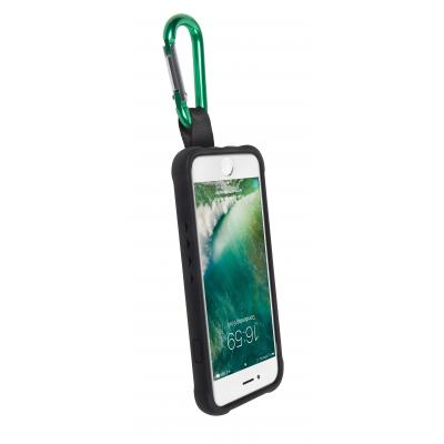Gecko apparatuurtas: - Apple iPhone 6/7 Back cover Bounce 1m - Zwart